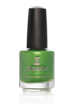 Лак для ногтей  # 949 Bollywood Bold, 14,8 мл JESSICA. Цвет: зеленый