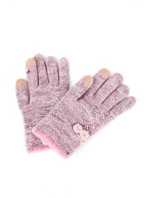 Перчатки 1Azaliya. Цвет: сиреневый