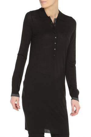 Платье классического стиля Liu Jo. Цвет: черный
