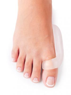 Бандаж большого пальца ноги ORTMANN. Цвет: прозрачный