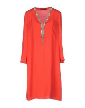 Короткое платье ANTIK BATIK. Цвет: красный