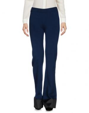 Повседневные брюки AKEP. Цвет: грифельно-синий