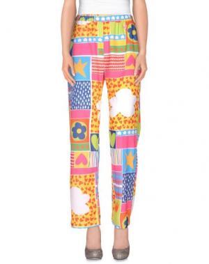 Повседневные брюки AGATHA RUIZ DE LA PRADA. Цвет: желтый