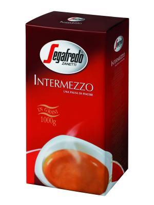 Кофе Segafredo INTERMEZZO зерно 1000г Zanetti. Цвет: черный