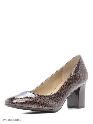 Туфли INDIANA. Цвет: коричневый