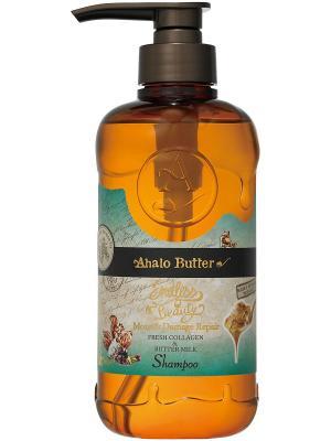 Шампунь увлажняющий и восстанавливающий с тропическими маслами, 500 мл. AHALO BUTTER. Цвет: коричневый