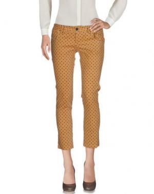 Повседневные брюки PDR PHISIQUE DU ROLE. Цвет: верблюжий