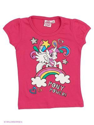 Футболка My Little Pony. Цвет: розовый, фиолетовый