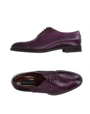 Обувь на шнурках FRATELLI ROSSETTI. Цвет: фиолетовый