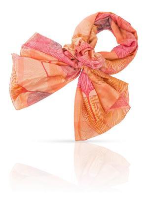 Палантин MICHEL KATANA`. Цвет: розовый, персиковый, серо-голубой