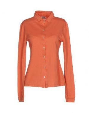 Pубашка SIYU. Цвет: абрикосовый