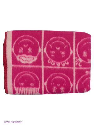Одеяло Сукно. Цвет: розовый, белый