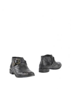Полусапоги и высокие ботинки CRIME LONDON. Цвет: свинцово-серый