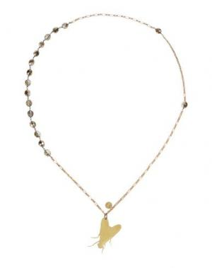 Ожерелье NUR. Цвет: золотистый