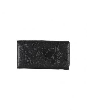 Бумажник PIERO GUIDI. Цвет: черный