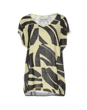 Блузка BRAND UNIQUE. Цвет: светло-желтый