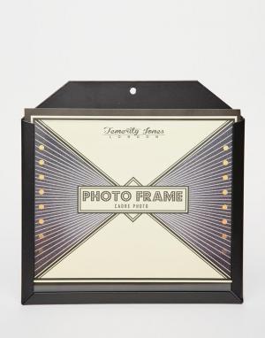 Temerity Jones Большая черная карманная рамка для фото. Цвет: мульти
