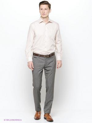 Рубашка Hans Grubber. Цвет: бежевый