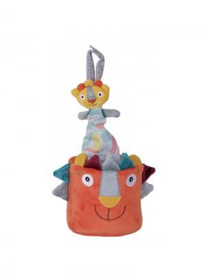 Ebulobo Музыкальная игрушка Львенок Вуги. Цвет: оранжевый