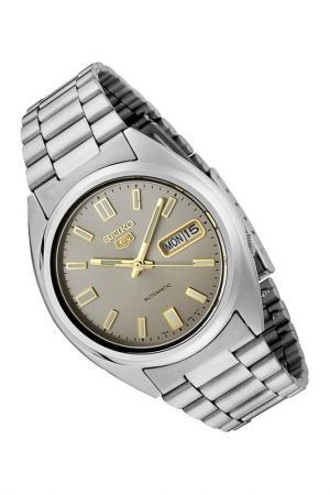 Наручные часы Seiko. Цвет: серебряный