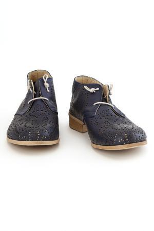 Ботинки Elena. Цвет: синий