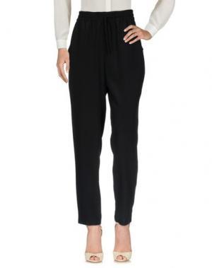 Повседневные брюки ASPESI. Цвет: черный