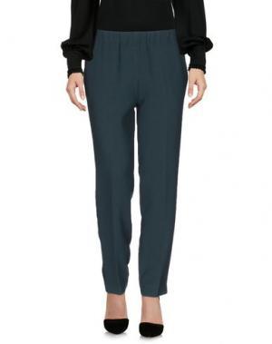 Повседневные брюки KATIA G.. Цвет: темно-зеленый