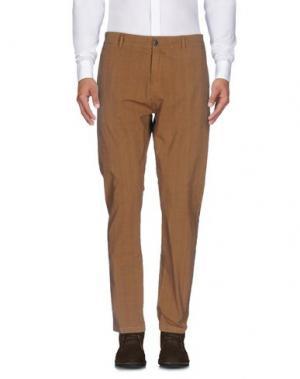Повседневные брюки ONE SEVEN TWO. Цвет: охра
