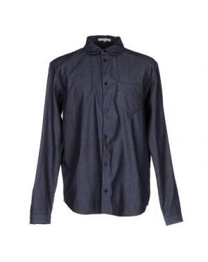 Джинсовая рубашка CARVEN. Цвет: синий