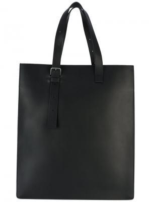 Прямоугольная сумка-тоут Pb 0110. Цвет: чёрный