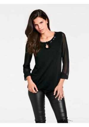 Блузка ASHLEY BROOKE by Heine. Цвет: черный