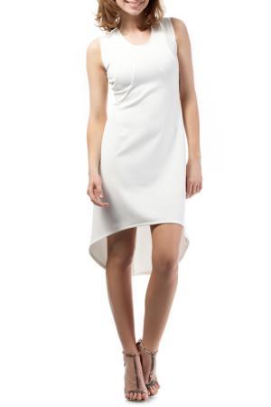 Платье Moe. Цвет: белый
