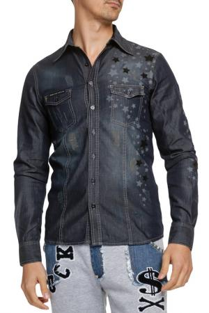Shirt Philipp Plein. Цвет: синий