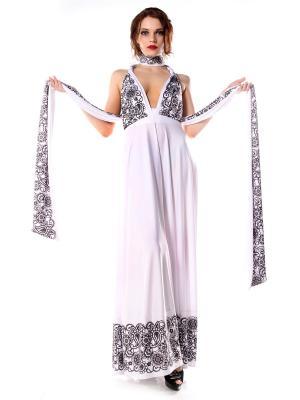 Платье-трансформер с оборкой Восточное Кружево длинное SEANNA