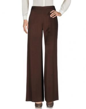 Повседневные брюки MARIO BORSATO. Цвет: темно-коричневый
