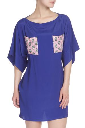 Платье WHO*S WHO. Цвет: синий