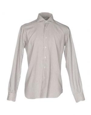 Pубашка ORIAN. Цвет: темно-коричневый