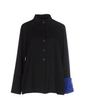Pубашка MARIA CALDERARA. Цвет: черный