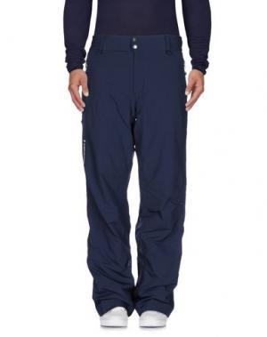 Повседневные брюки PEAK PERFORMANCE. Цвет: темно-синий