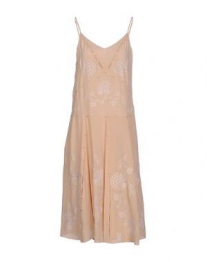 Платье до колена PAUL & JOE. Цвет: розовый