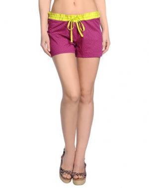 Пляжные брюки и шорты OPALINE. Цвет: фуксия