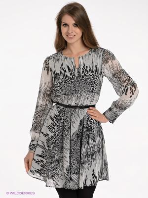 Платье adL. Цвет: серый, черный