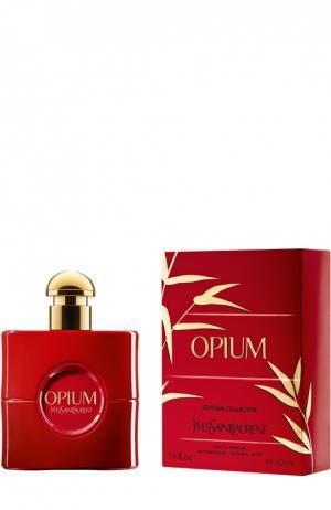 Парфюмерная вода Opium Сhristmas Сollector YSL. Цвет: бесцветный