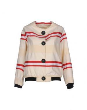 Куртка GUTTHA. Цвет: слоновая кость