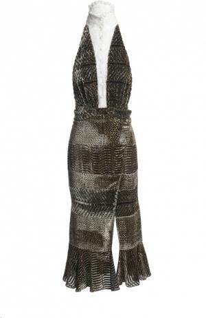 Платье Altuzarra. Цвет: серый