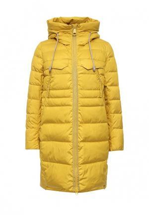 Куртка утепленная Clasna. Цвет: желтый
