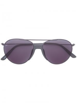 Солнцезащитные очки Fortunate Son Smoke X Mirrors. Цвет: серый