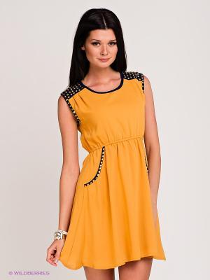Платье Ya Los Angeles. Цвет: оранжевый