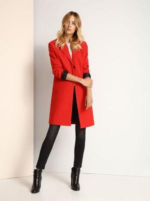 Пальто Top Secret. Цвет: красный
