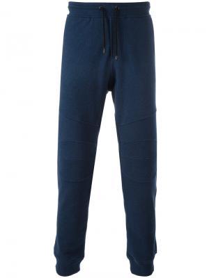 Спортивные брюки Belstaff. Цвет: синий